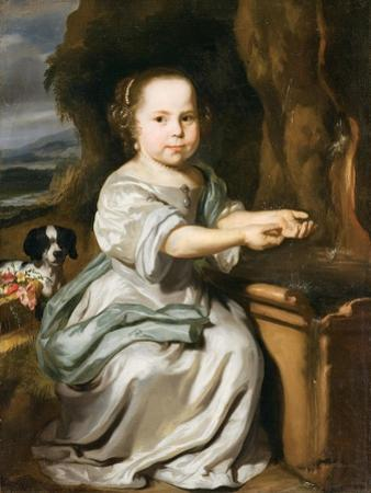 Portrait of a Girl, C.1664 by Nicolaes Maes