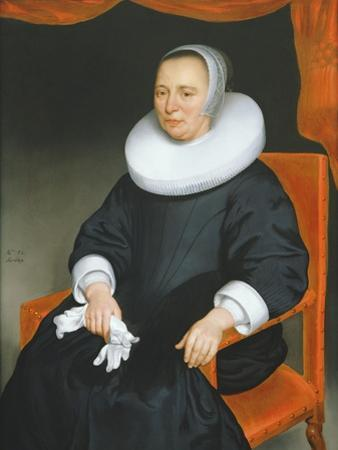 Portrait of a Lady, 1649 by Nicolaes Maes