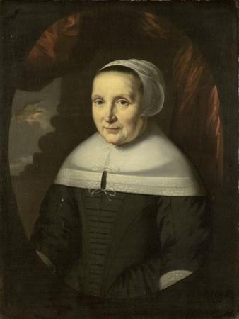 Portrait of Aeltje Denijs\ by Nicolaes Maes