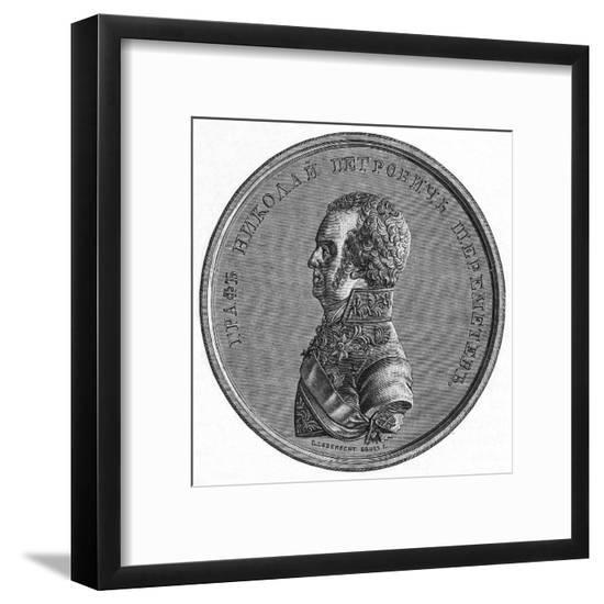Nicolai Sheremetiev--Framed Giclee Print
