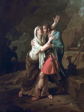 Eponine Et Sabinus, 1802 by Nicolas Andre Monsiau