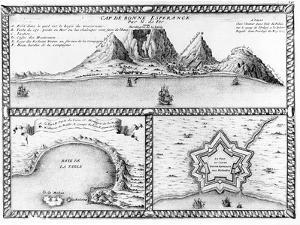 Cap De Bonne Esperance, 1705 (Engraving) by Nicolas De Fer
