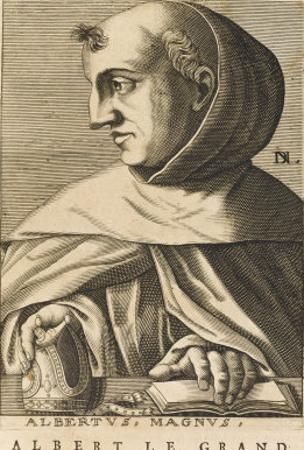Albertus Magnus German Scholar Bishop of Ratisbon by Nicolas de Larmessin