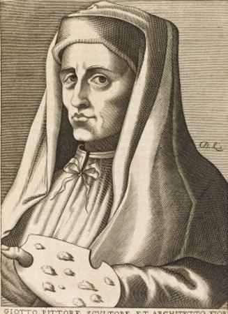 Angiolotto Giotto Italian Artist by Nicolas de Larmessin