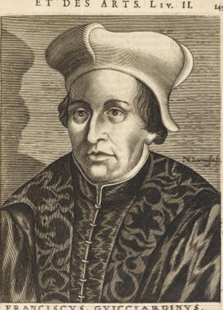 Francesco Guicciardini Florentine Historian and Politician by Nicolas de Larmessin