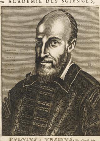 Fulvio Orsini Italian Philologist by Nicolas de Larmessin