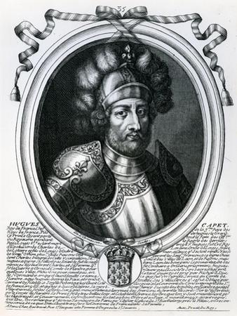 Hugues I Capet by Nicolas de Larmessin