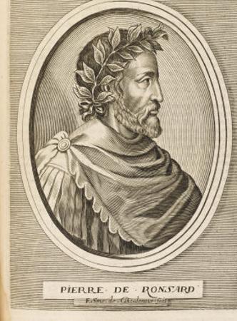 Pierre Ronsard French Poet by Nicolas de Larmessin