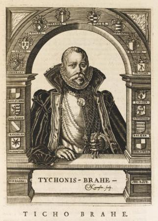 Tycho Brahe Danish Astronomer by Nicolas de Larmessin
