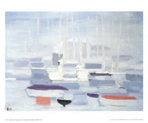 Boats in the Harbour by Nicolas De Stael