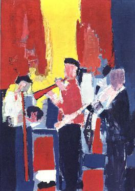 Jazz Players by Nicolas De Stael
