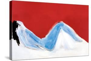 Reclining Nude by Nicolas De Staël