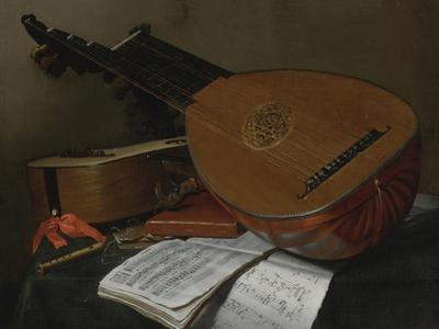 Still Life with a Lute and a Guitar