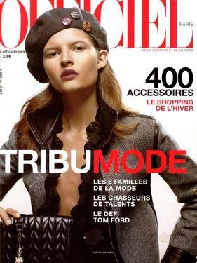 L'Officiel, October 2000 - Heather Knese en Gucci by Nicolas Hidiroglou