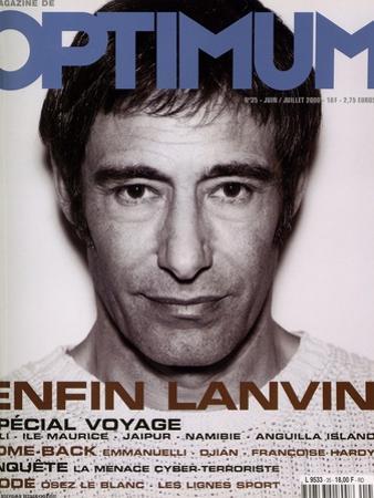 L'Optimum, June-July 2000 - Gérard Lanvin by Nicolas Hidiroglou