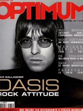 L'Optimum, March 2000 - Liam Gallagher by Nicolas Hidiroglou