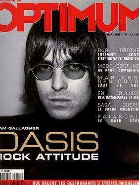 L'Optimum, March 2000 - Liam Gallagher by Nicolas Hidiroglou