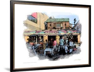 30 Beach Cafe, Venice Beach, California by Nicolas Hugo