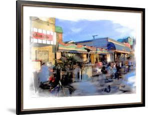 Baach Cafe, Venice, California by Nicolas Hugo