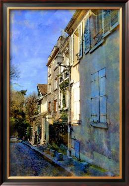 Hillside Windows, Paris, France by Nicolas Hugo