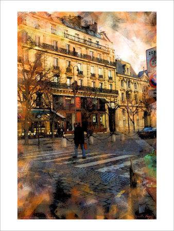 St. Germain Cross Walk, Paris, France