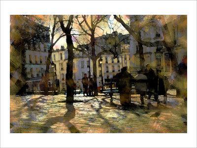 Winter in Montmartre, Paris, France