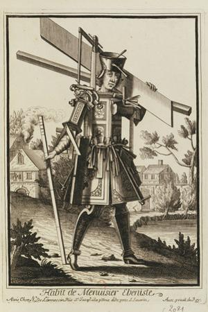 Habit De Menuisier Ebeniste (Imaginary Costume of a Cabinet Maker with the Tools of His Trade)