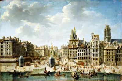 The Place De Grève in Paris, 1746