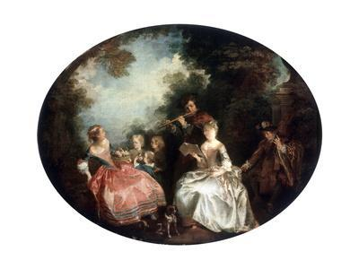 Concert in a Park, 18th Century