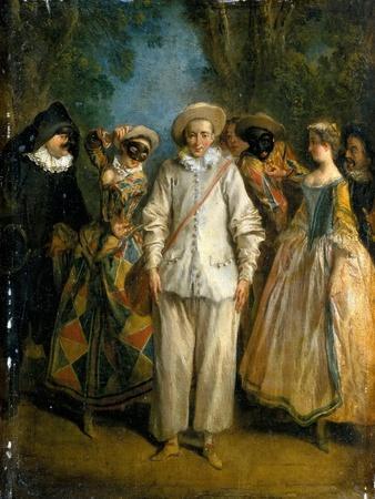 The Actors of the Commedia Dell'Arte