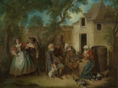 The Four Ages of Man: Old Age, Ca 1735 by Nicolas Lancret