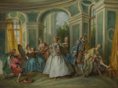 The Four Ages of Man: Youth, Ca 1735 by Nicolas Lancret