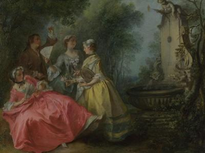 The Four Times of Day: Midday, C. 1740 by Nicolas Lancret