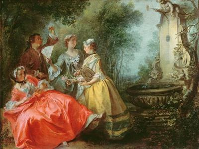The Four Times of the Day: Midday, C.1739-41