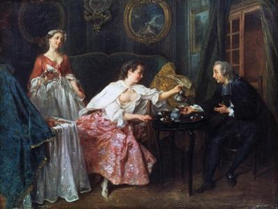 The Four Times of the Day: Morning, 1739 by Nicolas Lancret