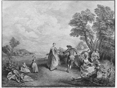 The Pleasures of the Countryside by Nicolas Lancret