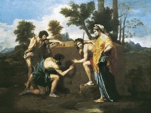 Arcadian Shepherds (Et in Arcadia Ego) by Nicolas Poussin