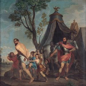 Camillus and the Schoolmaster of Falerii, 1635-1640 by Nicolas Poussin