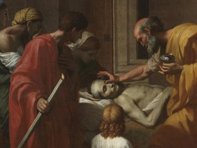 Extreme Unction, from the 'Seven Sacraments', 1638-40 by Nicolas Poussin