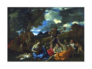 Le Grand Bacchanal, 1627-1628 by Nicolas Poussin