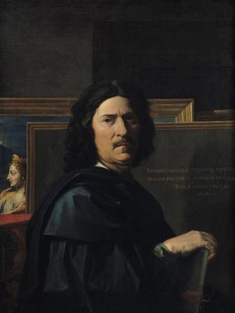 Portrait of the Artist, 1650 by Nicolas Poussin