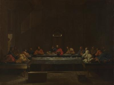 Seven Sacraments: Eucharist, Ca 1637-1640 by Nicolas Poussin