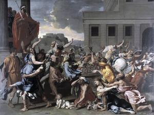 The Abduction of the Sabine Women by Nicolas Poussin
