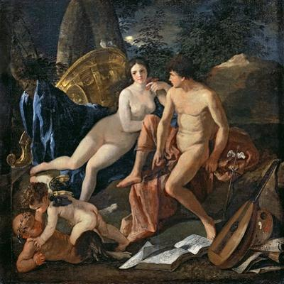 Venus and Mercury, C.1627-29 by Nicolas Poussin