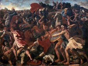 Victory of Joshua over the Amalekites, 1625-1626 by Nicolas Poussin