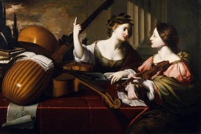 Divine Inspiration of Music, c.1640 by Nicolas Regnier