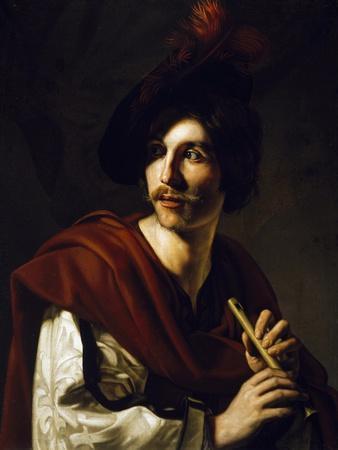 Portrait of Flute Player