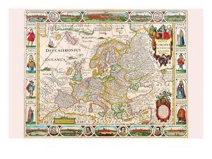 Europe by Nicolas Visscher