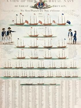 A View of the Royal Navy of Great Britain, Published in 1804 by Nicolaus von Heideloff