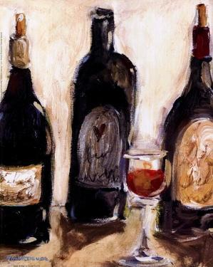 Glass Of Red by Nicole Etienne